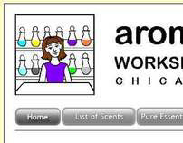Aroma Workshop website
