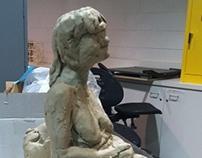 Figure sculpture first try
