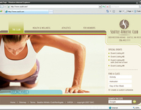 Seattle Athletic Club Web Site User Interface Design
