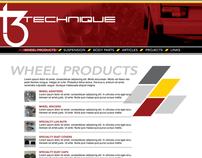 T3 Technique Brand Identity and Web Site Design