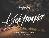 Kick Hornet - Font