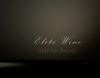 Ad Poster for Elite Wine