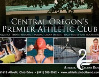 The Athletic Club of Bend Community Mailer Postcard