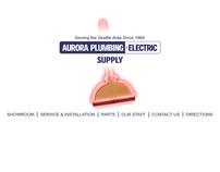 Aurora Plumbing & Electric Web Site Design