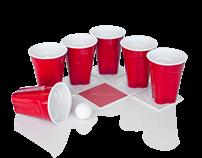 Beer Pong Coasters