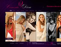 Website Conexão Diva