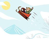 2020 Christmas Illustrations