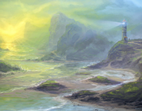 The Lighthouse | Speed Painting