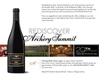 Archery Summit Winery ad