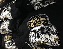 hood t skull design