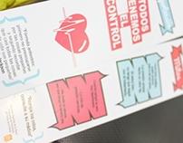 """separadores de libros """"campaña contra la Hipertension"""""""