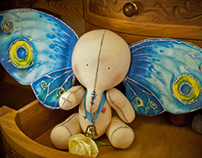 Collectible Art Toy Elephant and the Dream