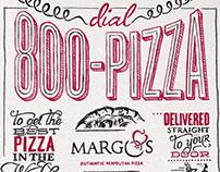 Margo's 800-PIZZA Campaign