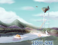 Hero Soul Book Cover / Promo Wallpaper
