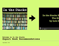 OLD In the Stacks Book Recommendation App Pitch