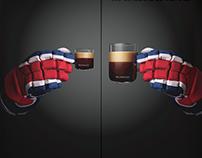 une dose de café