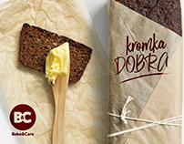 Bake&Care + Kromka Dobra | Branding