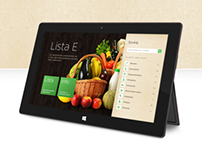 Lista E - Windows 8 App Design