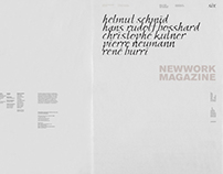 NEWWORK MAGAZINE, Issue 6