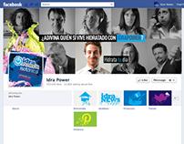 Diseño de Redes Sociales para Grupo Idra Power