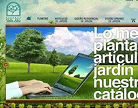 Website / Diseño / Viveros Valle Alto