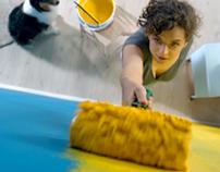 Spor paint TV commercial