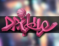 Dribbble Graffiti
