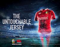 Canterbury Untouchable jersey.