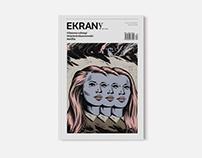Redesign layout of Magazine EKRANy