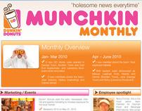 Dunkin Donuts Newsletter