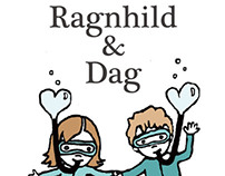 Ragnhild & Dag - wedding invitations