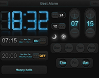 UI kit of Alarm