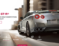 Nissan GT-R® Global Website Concept