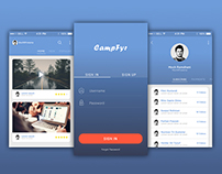 CampFyr - App Concept Design