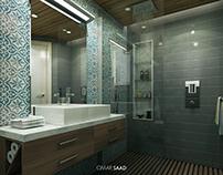 MOROCCAN BATHROOM - INTERIOR DESIGN -