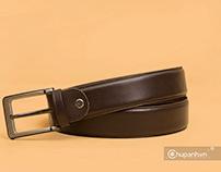 Chụp ảnh sản phẩm dây thắt lưng da