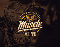 Brand Identity for a Motorcycle Shop