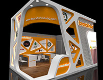 Brandchise booth Design
