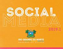 Social Media Governo do RN 2019.1