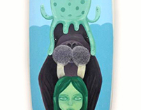 WAVESCAPE | Custom Illustrated Surfboard