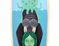 WAVESCAPE | Custom Illustrated Surfboard