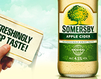 Somersby Apple Cider Social Media