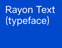 Rayon Text (typeface)