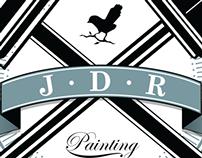 JDR Painting . Logo Design . Andrew Frazer . 2013