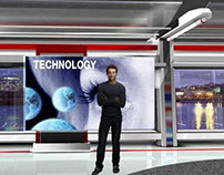 Viz Virtual Set - Concept/Design 01