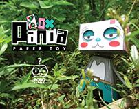 PANDA BOX (PAPER TOY)