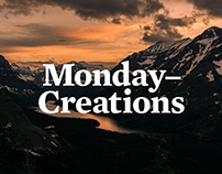 Monday Creations Re-brand, Strategy and Website