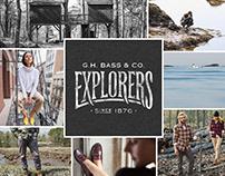 G.H. Bass // Explorers Campaign
