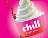Chill frozen yogurt