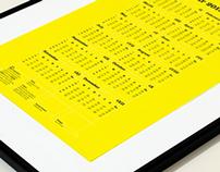 Golden Ratio Calendar   2013
